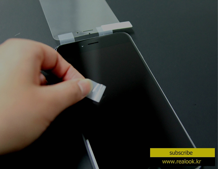 realook screen protector remove dust