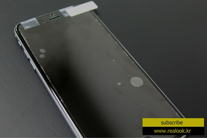 realook screen protector remove bubble